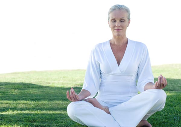 Yoga is only one of the drug free therapies for menopause
